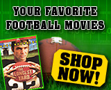 Dreading the end of the season? We've got a great selection of football movies to tide you over until next year!