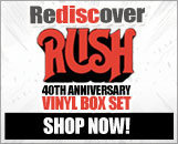 Celebrate 40 Years of Rush with this Deluxe Edition LP Box Set! Order Now!